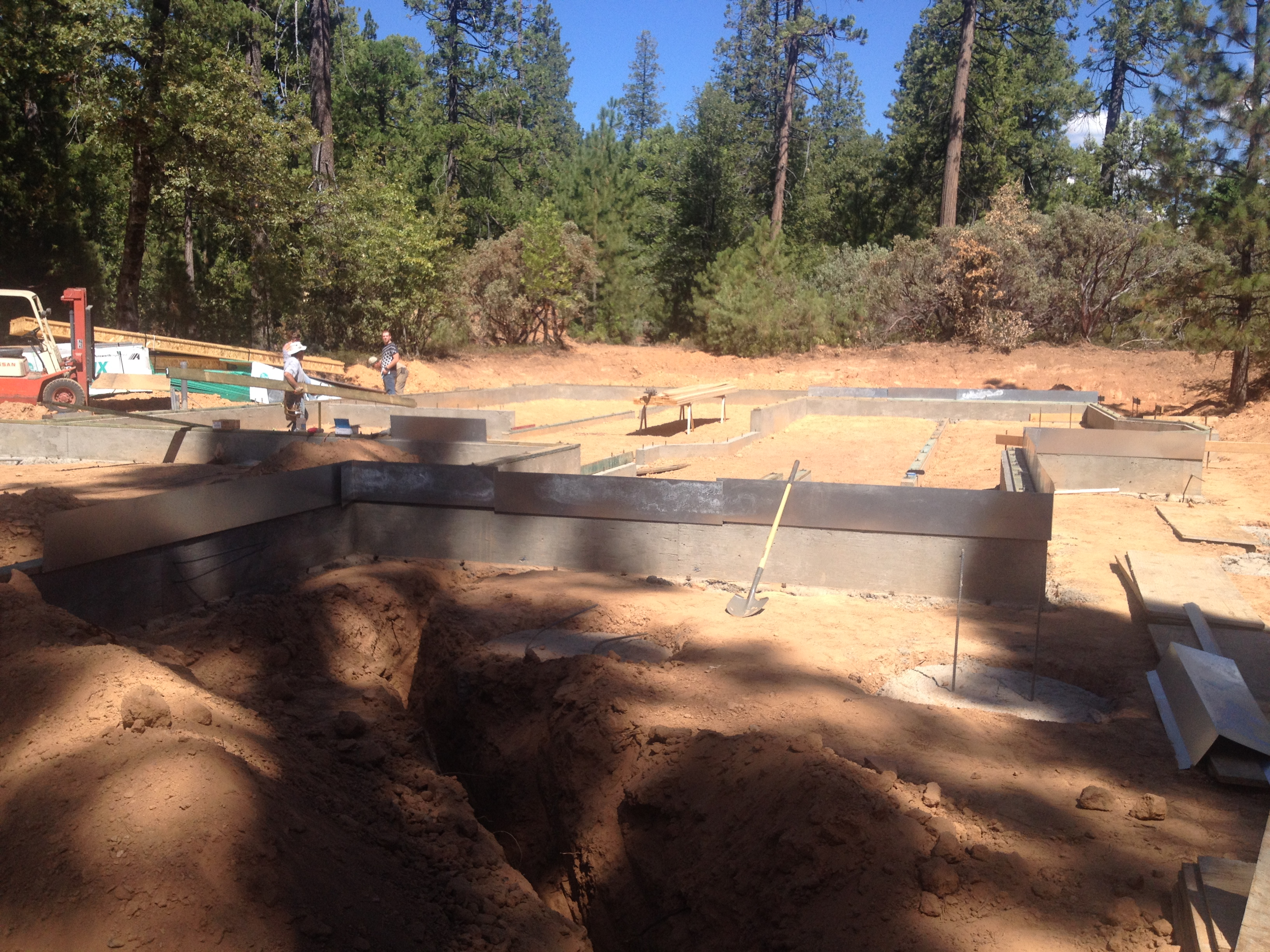 Foundation stem walls