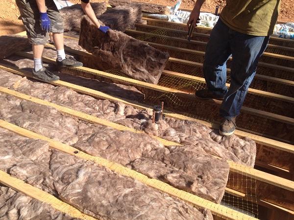 The Mendocino Build Part 3 Sub Floor Insulation